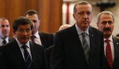 اردوغان يقبل استقالة اوغلو ويكلفه تصريف الاعمال