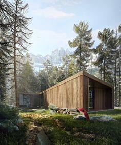 CGarchitect - Professional 3D Architectural Visualization User Community | The Making of Red Riding Hood Modern House