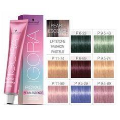 Amazon.com : Schwarzkopf Igora Royal Pearlescence Permanent Hair Color - 9.5-29 - Pastel Lavender : Go Gorgeous