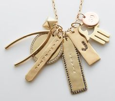 Jennifer Fisher charm necklace My absolute favorite designer...