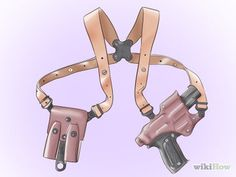 How to Make a Shoulder Holster: 8 Steps (with Pictures) - wikiHow