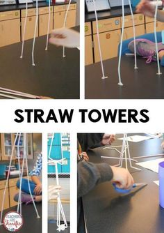 Stem Challenge Twelve Straws Was Hard Most Kids Wanted To Build A Very