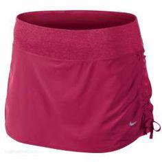 #Nike skirt stretch woven berry dames bij Hardloopaanbiedingen.nl