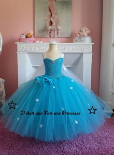 Robe tutu, robe de princesse, 7-8 ans                                                                                                                                                                                 Plus