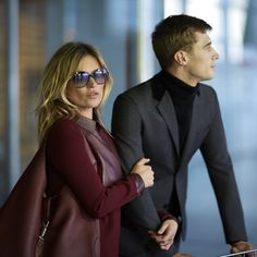"""Kate Moss and Clement Chabernaud in """"The Jackie,"""" Gucci latest short film."""