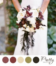 Winter Wedding Colors: Pretty Palettes #65