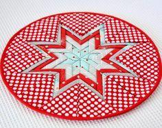 Holiday Folded Star Mat