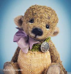 Needle Felting, Teddy Bear, Create, Toys, Artist, Animals, Activity Toys, Animales, Animaux