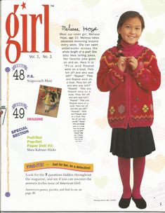 American Girl Magazine - January 1993/February 1993 Issue - Page 2 (Contents - Part 2)