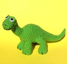 PDF Crochet pattern BABY BRONTOSAURUS by bvoe668 on Etsy