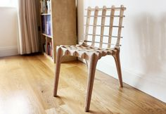 Sketch chair - taking Ikea style flat pack furniture to a new level, with self design Design Furniture, Furniture Projects, Furniture Plans, Online Furniture, Furniture Making, Chair Design, Luxury Furniture, Furniture Market, French Furniture