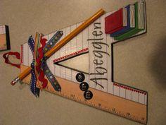 Chipboard letter ideas