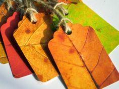 Tolle Bastelidee für den Herbst zusammen mit den Kindern