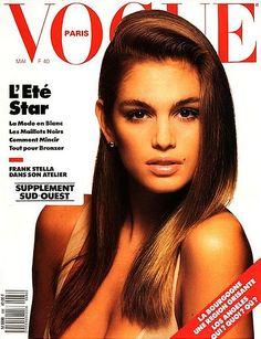Vintage Vogue magazine covers - mylusciouslife.com - Vintage Vogue Paris May 1988.jpg