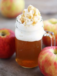 Caramel Apple Cider recipe - Lucea Row