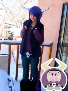 Eduardo cosplay from Foster's Home For Imaginary Friends