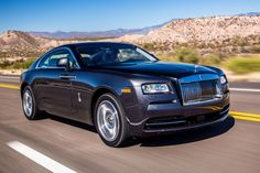2014 Rolls Royce Wraith front left angle