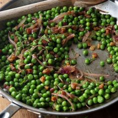 Peas & Pancetta - Barefoot Contessa