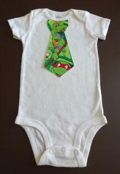 Infant Iron On Teenage Mutant Ninja Turtles by TheCutiePieCompany, $2.95