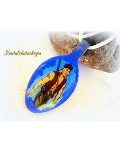 spoon necklace Μπλεκ