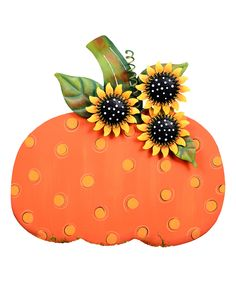 Look at this Whimsical Polka Dot Pumpkin Accent on #zulily today!
