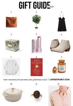 be6693c1e836 25 Best gift list-women images