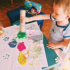 Peinture au doigt fait maison !