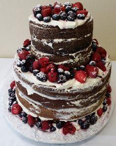 Sweet Suga Mama's-Naked Cake-Order Now! New York City area only! http://www.sweetsugamamas.com/#!celebration-cakes/ckw4