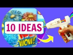10 IDEAS CON SILICONA CALIENTE. MANUALIDADES FÁCILES. VIDEO SATISFACTORIO - YouTube Projects For Kids, Crafts For Kids, Glue Gun Crafts, Easy Diy Crafts, Invite Your Friends, Plastic Bottles, Activities For Kids, Origami, Videos