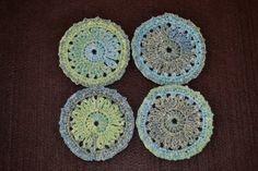 DecoSet 2 or #coasters #mandala #homedeco #handmade #crochet