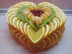 367 Mejores Imágenes De Decoraciones De Frutas Y Verduras