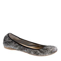 Lula glitter ballet flats - Glitter!