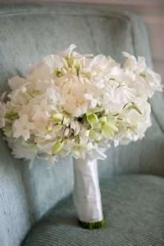 I think I just like the bouquet in this wedding too!  I have a flower problem