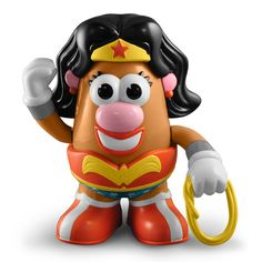 Wonder Woman Mrs. Potato Head. Incredibly necessary in life.