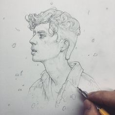 Vonn Sketch 12.10.15 - Troye by Tvonn9 on DeviantArt