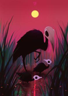 ArtStation - Dead birds, Patrycja Wójcik