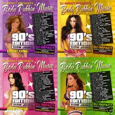 Body Rubbin' 90's Edition Mixed CD Collection - DJ IMPACT
