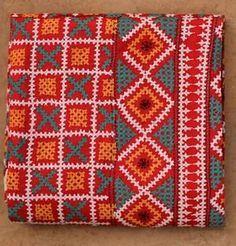 KUTCHWORK SILK SAREE Hand Embroidery Dress, Embroidery On Clothes, Embroidery Saree, Indian Embroidery, Hand Embroidery Stitches, Hand Embroidery Designs, Embroidery Patterns, Stitch Patterns, Kutch Work Saree