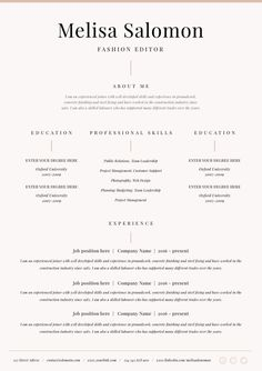 Free Resume Templates In Microsoft Word Format You Won T Want To