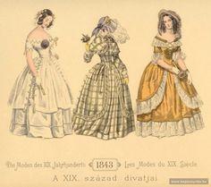 zeehasablog:  Fashion plate, 1843