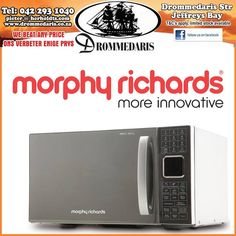 Did you know that other than their unique and popular range of retro kettles and toasters, Morphy Richards has a stylish range of microwave's? What is your opinion on this one? Kettle And Toaster, Domestic Appliances, Toasters, Kettles, Microwave, Home Improvement, How To Apply, Kitchen Appliances, Range