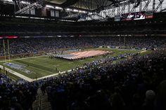 Ford stadium, Michigan.