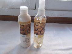 2 New Avon Naturals Moisturizing Almond & Milk Hand Body Lotion Refreshing Spray #Avon