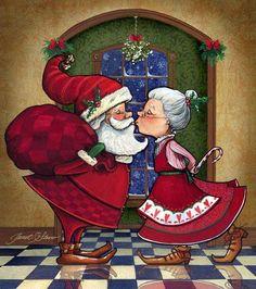 Santa and the Mrs.
