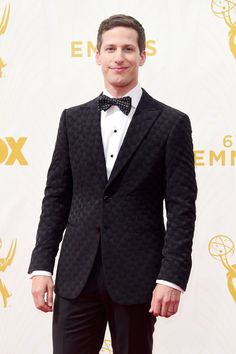 Pin for Later: All the Emmys Eye Candy You Need to See Andy Samberg