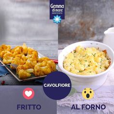 Oggi alla base delle nostre ricette abbiamo il cavolfiore! Lo preferite fritto o al forno? 😄 #gemmadimare #recipebattle #gemma #food #instafood #homecooking #foodporn #tasty #eating #foodpic #eat #hungry #delicious #amazing #italy #sharefood #saltfood #gemmadimare #gemmaessenziale #essenziale #salt #salebianco #salinas #salealimentare #good #benessere #goodtimes #seafood #health #montereylocals #salinaslocals- posted by Gemma di Mare https://www.instagram.com/gemmadimare_official - See more…