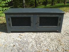 Black painted distressed Rustic bench , coffee table, chicken wire,  entry way bench,mudroom, shabby shic bench, shoe bench
