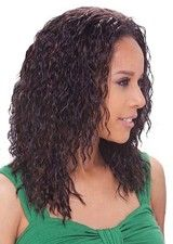 Sexy Layered Curly Lace Front African American Wig