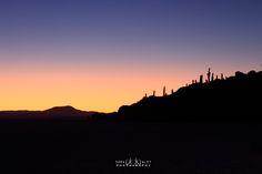 amanecer el el salar de Uyuni -Potosi,Bolivia