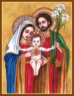 The Holy Family by Theophilia.deviantart.com on @deviantART
